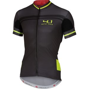 Castelli Free AR 4.1 Full-Zip Jersey - Short Sleeve - Men's