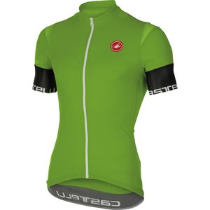 Castelli Entrata 2 Full-Zip Jersey - Short Sleeve - Men's