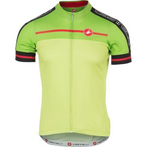 Castelli Velocissimo Full-Zip Jersey - Short Sleeve - Men's