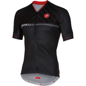 Castelli Scotta Full-Zip Jersey - Short-Sleeve - Men's