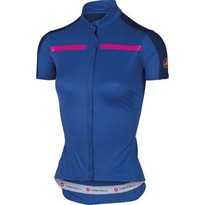 Castelli Ispirata Full Zip Jersey - Short Sleeve - Women's