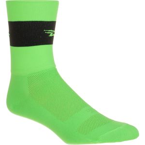 DeFeet Team DeFeet Hi-Vis Aireator Hi Top 5in Sock