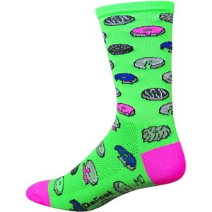 DeFeet Dazed Donut Aireator Hi Top 6in Sock