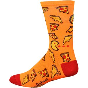 DeFeet Pizza Party Aireator Hi Top 6in Sock