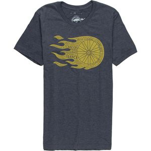 Flaming Wheel T-Shirt - Short-Sleeve - Men's
