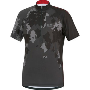 Gore Bike Wear Element Digi Camo Jersey - Short Sleeve - Men's