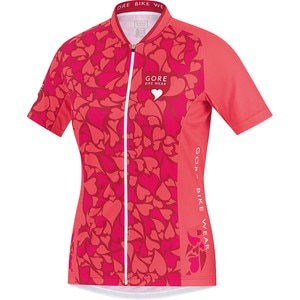Gore Bike Wear Element Love Camo Jersey - Short Sleeve - Women's