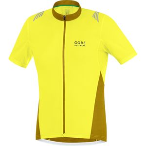 Gore Bike Wear Element Full Zip Jersey - Short Sleeve - Men's