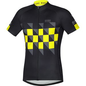 Gore Bike Wear Element Finish Line Jersey - Short-Sleeve - Men's