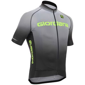 Giordana Trade Glow FormaRed Carbon Jersey - Short-Sleeve - Men's