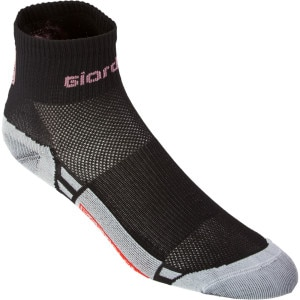 Giordana FormaRed Carbon Short Cuff Women's Socks