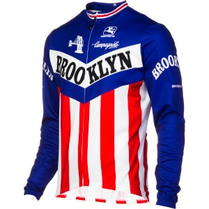 Giordana Team Thermosquare Brooklyn Long Sleeve Men's Jersey
