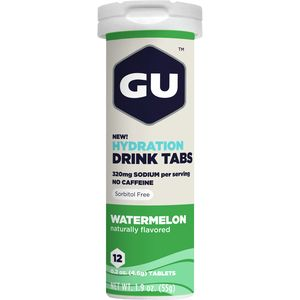 Hydration Drink Tabs - 8 Tube Pack