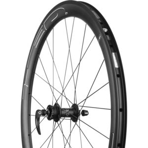 HED Jet 4 Plus Black Carbon Disc Brake Wheelset - Clincher
