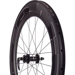HED Jet 9 Plus Black Carbon Disc Brake Wheelset - Clincher
