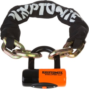 Kryptonite New York Noose Chain 1275 and Evolution Disc Lock