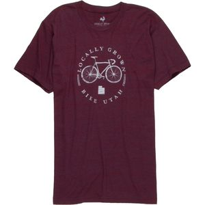 Locally Grown Bike Local Utah Tri-Blend T-Shirt - Short-Sleeve - Men's