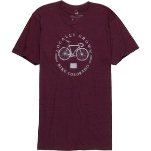 Locally Grown Bike Local Colorado Tri-Blend T-Shirt - Short-Sleeve - Men's