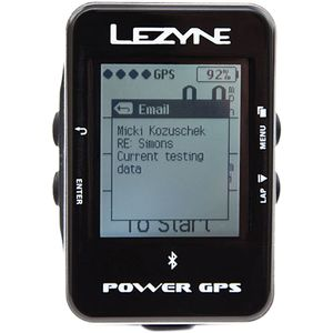 Lezyne Power GPS Bike Computer