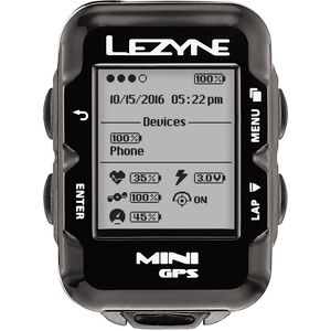 Lezyne Mini GPS HR Loaded Bike Computer