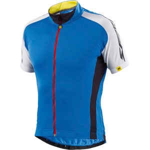 Sprint Relax Full-Zip Short Sleeve Jersey