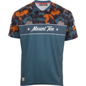 Maloja Mount TenM. Multi Jersey - Short-Sleeve - Men's