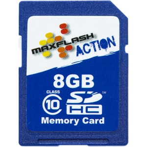 8GB Action SDHC Card Class 10