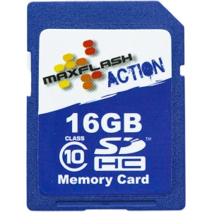 Maxflash 16GB Action SDHC Card Class 10