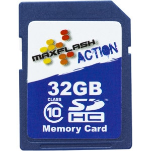 32GB Action SDHC Card Class 10