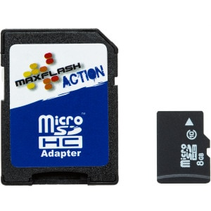 8GB Action Micro SDHC Card Class 10