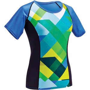 Color Block Jersey - Short Sleeve - Women's