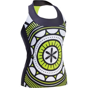 Moxie Cycling High Vis T-Back Jersey - Sleeveless - Women's