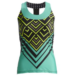 Moxie Cycling Lumenex T-Back Jersey - Sleeveless - Women's