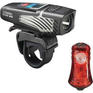 NiteRider Lumina 800 OLED/Sentinel 40 Combo Light Kit