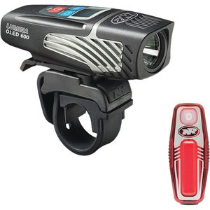 NiteRider Lumina 600 OLED/Sabre 35 Combo Light Kit