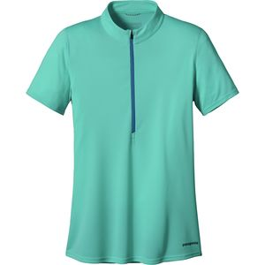 Patagonia Fore Runner Zip Neck Jersey - Short-Sleeve - Women's