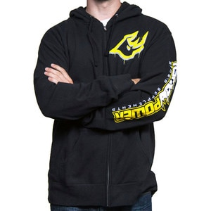 Ryno Power Logo Zip Hoody