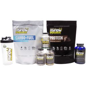 Ryno Power Complete Supplement Fitness Package