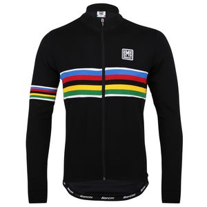 Santini UCI Rainbow Jersey - Long-Sleeve - Men's