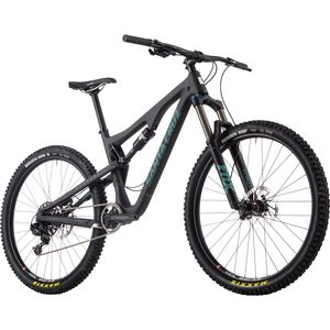 Santa Cruz Bicycles Bronson 2.0 Carbon R1 Complete Mountain Bike - 2017