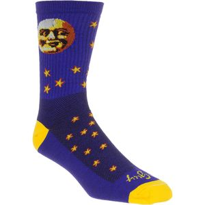 SockGuy Moon Head 6in Socks