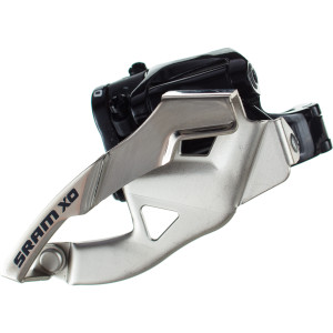 SRAM X0 2x10 Low Clamp Compact 38/36t Front Derailleur