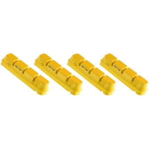 SwissStop RacePro Yellow King Brake Pads - Set of 4