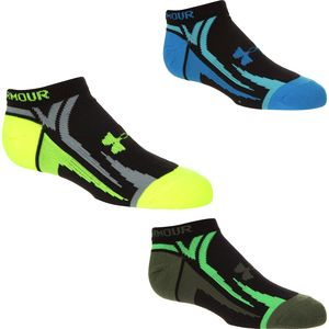 Under Armour UA Phantom III No Show Socks - Kids'