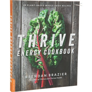 Vega Thrive Energy Cook Book