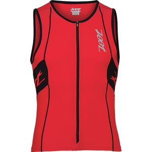 ZOOT Performance Tri Full Zip Tank Top - Men's
