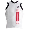 Assos nS.superLeggera Sleeveless Jersey  Red Swiss