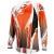Alpinestars A-Line Jersey - Long-Sleeve - Men's Orange/Black/Gray