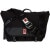 Chrome Mini Buran Laptop Messenger Bag Black