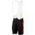 Castelli Evoluzione Bib Short - Men's Black/Red